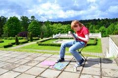 Faculdade criadora das crianças fotografia de stock royalty free