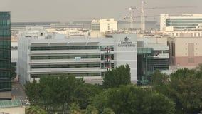 Faculdade da aviação dos emirados, Dubai, UAE filme