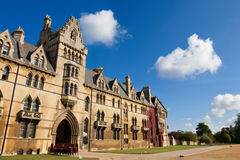 Faculdade da igreja de Christ. Oxford, Inglaterra Imagem de Stock