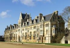 Faculdade da igreja de Christ, Oxford, Oxfordshire Reino Unido imagem de stock