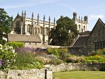 Faculdade da igreja de Cristo em Oxford, fotos de stock