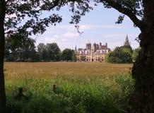 Faculdade da igreja do ` s de Cristo, universidade de Oxford fotografia de stock