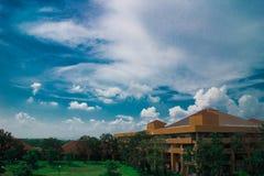 Faculdade da tecnologia industrial e gestão Imagens de Stock Royalty Free