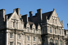 Faculdade da trindade, Dublin Imagens de Stock Royalty Free