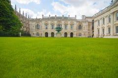 Faculdade da trindade, universidade de Cambridge Fotos de Stock Royalty Free