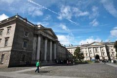 Faculdade da trindade, universidade em Dublin Fotos de Stock Royalty Free