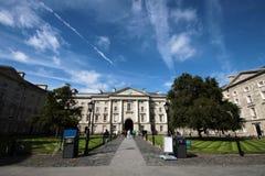 Faculdade da trindade, universidade em Dublin Foto de Stock Royalty Free