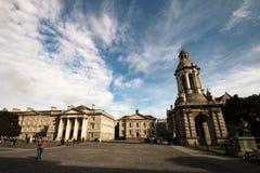 Faculdade da trindade, universidade em Dublin Imagens de Stock