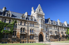 Faculdade de Christchurch na universidade de Oxford - Oxford, Reino Unido Foto de Stock