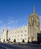 Faculdade de Marischal, Aberdeen imagens de stock
