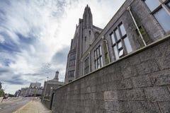 Faculdade de Marishall, Aberdeen, Reino Unido foto de stock royalty free
