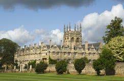 Faculdade de Merton, Oxford Fotos de Stock Royalty Free