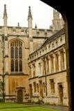 Faculdade de Oxford fotografia de stock