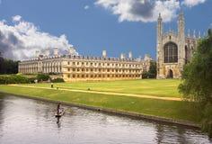 Faculdade do rei Foto de Stock Royalty Free