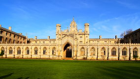 A Faculdade do rei Imagem de Stock