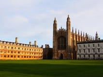 A Faculdade do rei Foto de Stock