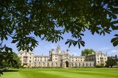 Faculdade do St John em Cambridge fotografia de stock