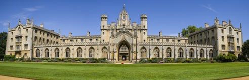 Faculdade do St John em Cambridge fotografia de stock royalty free