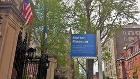 A faculdade dos médicos murmura o museu em Philadelphfia Fotografia de Stock Royalty Free