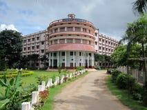 Faculdade Jagdalpur de Cristo (Chhattisgarh) - Índia Fotos de Stock Royalty Free