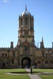 Faculdade Oxford da igreja de Christ fotografia de stock