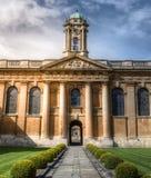 A faculdade Oxford da rainha Fotografia de Stock