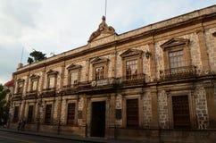 Faculdade primitiva de San Nicolas imagem de stock