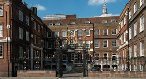 Faculdade real dos braços, Londres imagens de stock royalty free