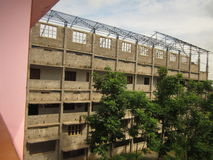 Faculdade sob a construção Foto de Stock Royalty Free