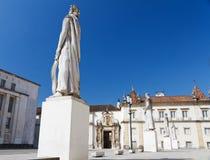 Faculté de philosophie, Coimbra Photographie stock libre de droits