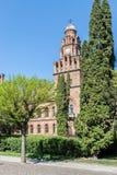 Facultad de geografía en universidad del nacional de Chernivtsi fotos de archivo