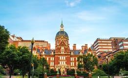 Facultad de Medicina de la Universidad John Hopkins Imágenes de archivo libres de regalías