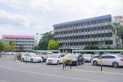 Faculteit van Bedrijfskunde op Ramkhamhaeng-Universiteit Stock Afbeelding