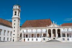 Faculteit van Filosofie bij Universiteit van Coimbra stock afbeeldingen