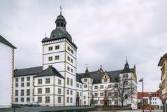 Faculteit van Theologie in Paderborn, Duitsland stock foto's