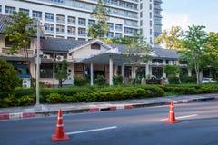 Faculty of Education building in Chulalongkorn University. Bangkok, Thailand - June 11, 2015: Faculty of Education building in Chulalongkorn University on June Stock Photography