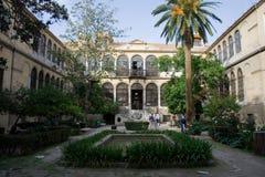 Faculty of Interpretating Granada Stock Image