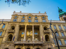 Faculty of Law and Political Sciences, Budapest Stock Image