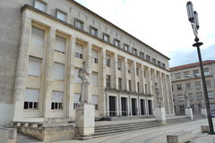Faculty Of Arts, University Of Coimbra Stock Photos
