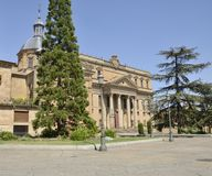 Faculty of philology of the University of Salamanca Stock Image