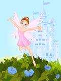 Fada cor-de-rosa Imagens de Stock Royalty Free
