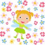 Fada da flor Imagem de Stock Royalty Free