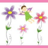 Fada da flor Fotografia de Stock