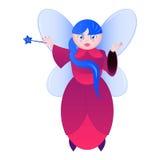 Fada dos desenhos animados Imagens de Stock