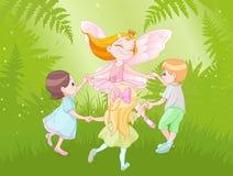 Fada e crianças Imagem de Stock Royalty Free