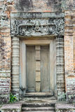 Fade gate of a temple. Fade stone gate of a temple Stock Photography