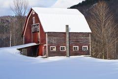Faded barn Stock Photo