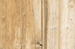 Faded beige wood planks Royalty Free Stock Photography