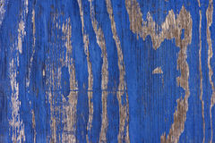 Faded blue painted wood Stock Photos