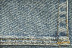 Faded Denim Background Stock Image